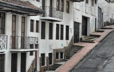 Running in Quito, Ecuador