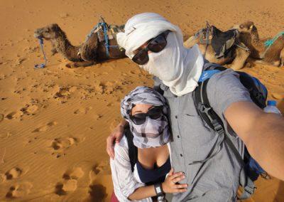 camel trek merzouga