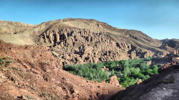 merzouga camel desert trek