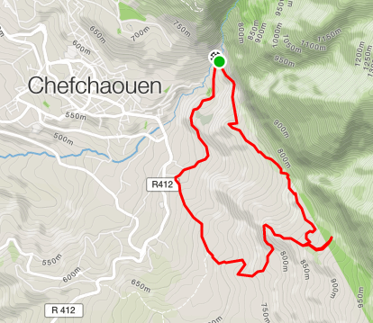 running_in_chefchaouen