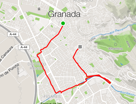 Running in Spain