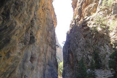 Hiking the Samaria Gorge, Crete