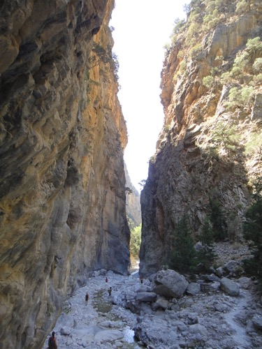Hiking the Samaria Gorge, Crete