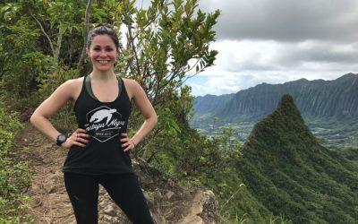 Hiking Mount Olomana in Oahu, Hawaii