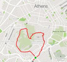Running in Greece