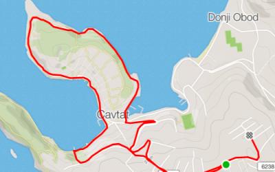 Running in Cavtat